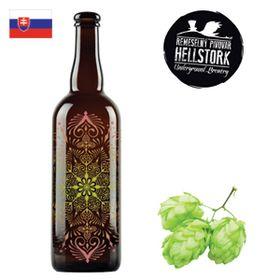 Hellstork Wildstork: Imperial Plum Wild Ale Red Wine BA 750ml