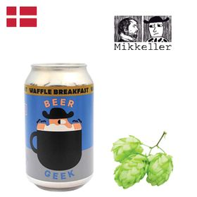 Mikkeller Beer Geek Waffle Breakfast 330ml CAN