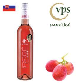 Pavelka Rosé cuvée neskorý zber 2018 750ml