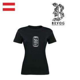 T-Shirt Damen Bevog schwarz