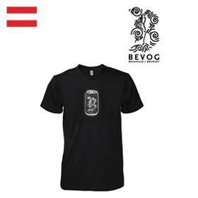 T-Shirt Herren Bevog schwarz