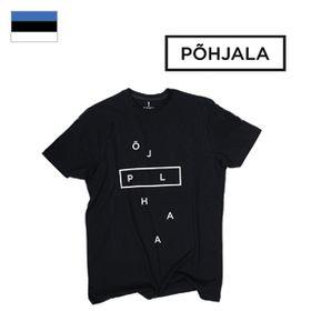 T-Shirt Põhjala Unisex - Deconstructed Black