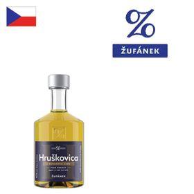 Žufánek Hruškovica z dubového suda 40% 100ml